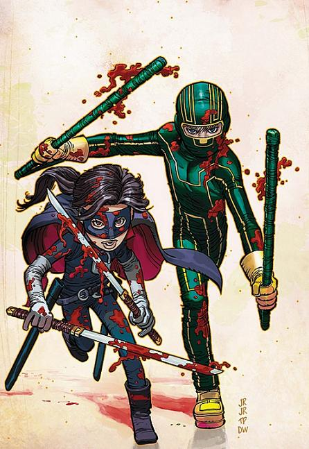 Kick Ass and Hit Girl