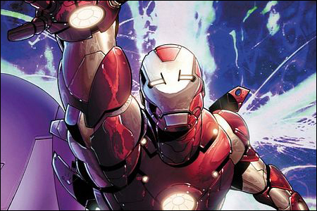 Iron Man #25 : OH SHIZ, NEW ARMOR