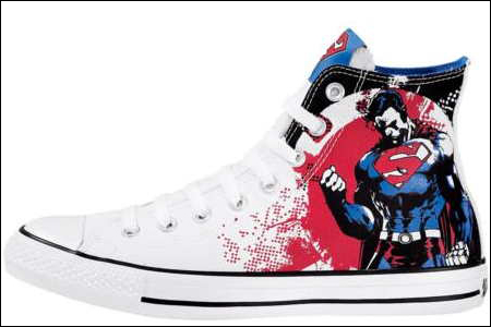 DC And Converse Team Up For Dope Comic Sneakers I Can t Wear  0e7795b6c