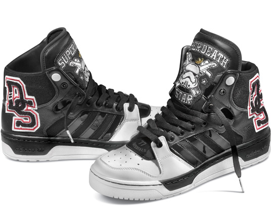"new style 37639 067ac adidas Originals x Star Wars FallWinter 2010 Conductor Hi ""Super Death  Star†Stormtrooper. Hotness Alert! November 23rd ..."