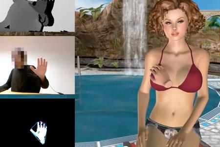 стала целовать виртуальный секс с дженной позволяет получить наивысшее