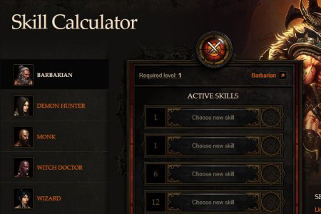 Diablo 3' Skill Calculator Is Out! Get Your Excel