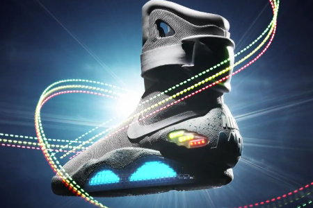 Nike Releases The 'Back to the Future' Sneakers: Nike Air Mag, Swoon.