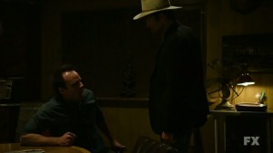 Boyd and Raylan