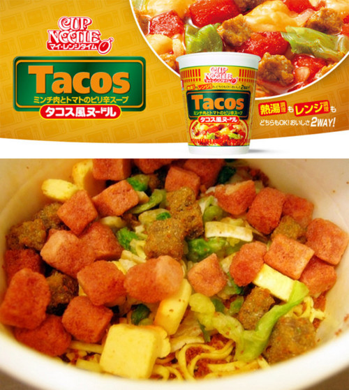 Tacos In A Cup? Ramen Has Nuked The F**king Fridge   OMEGA-LEVEL