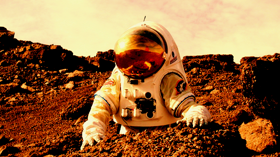 Humans on Mars and shit.