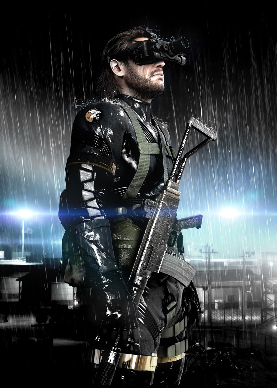 METAL GEAR SOLID: GROUND ZEROES' announced. Sexy Snake is ...