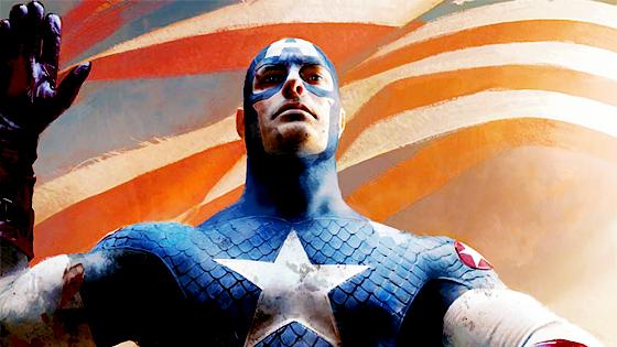 Captain America isss...the fucking president.