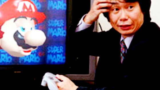Confused Miyamoto is confused.