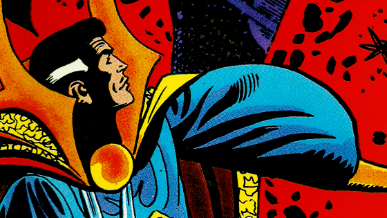 Doctor Strange up in this thang.