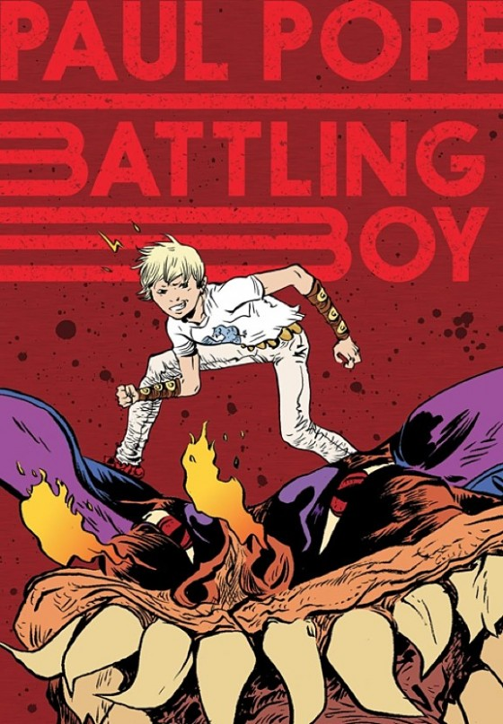 BATTLING BOY UP IN THE HOUSE.