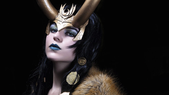 Lady Loki up in hurr. Up in hurr.