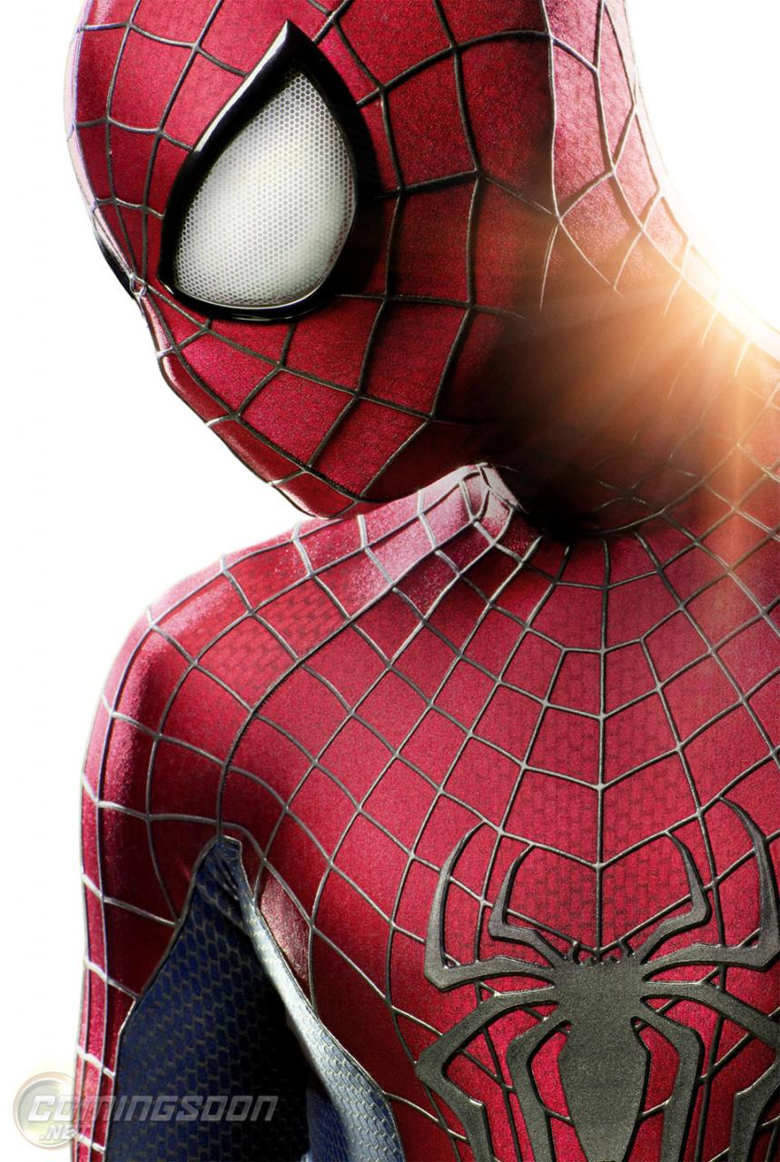 First Look: The SPIDER-MAN SUIT From 'Amazing Spider-Man 2