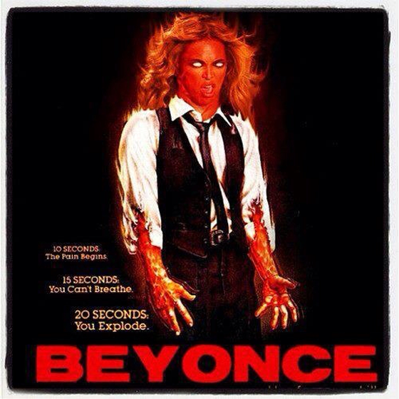 Beyonce goes Scanners.