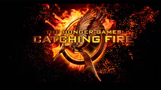 CATCHING FIRE. OR SOMETHING.