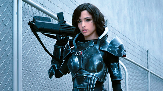 Cosplay More Fem Shepard More All The Time Omega Level