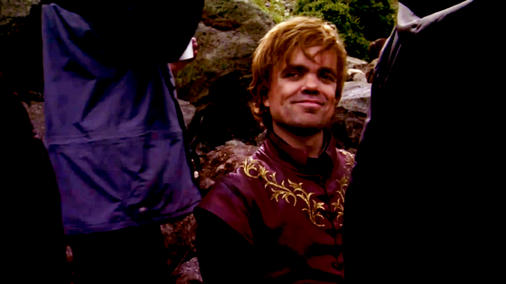 Tyrion approves.