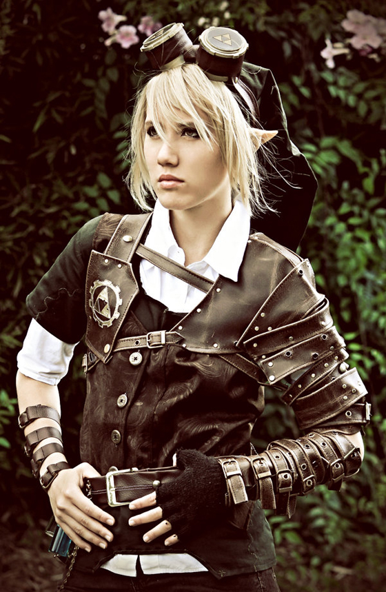 Fabuleux Cosplay: STEAMPUNK FEMME LINK will get your GEARS GOING. Or  XL45