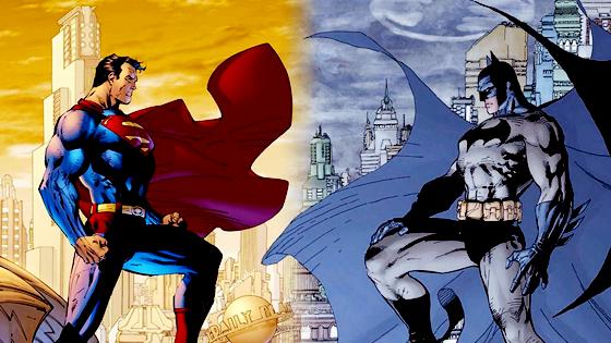 Superman & Batman.