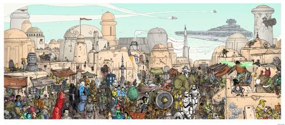 Ulises Farinas does Tatooine.