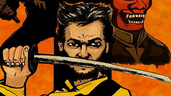WOLVERINE x KILL BILL.