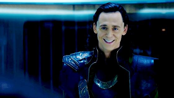 Loki. What a babe.
