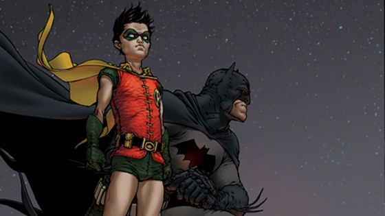 Dick Grayson. And Robin.