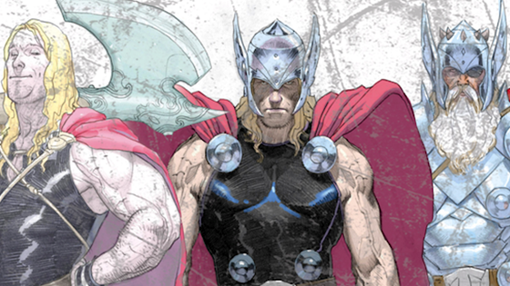 Thor - God of Thunder.