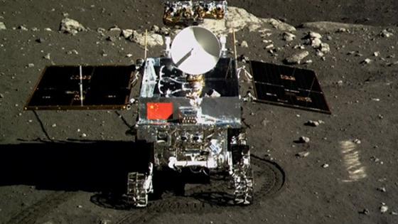 Yutu rover.