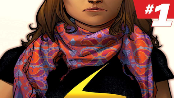 Ms. Marvel #1.