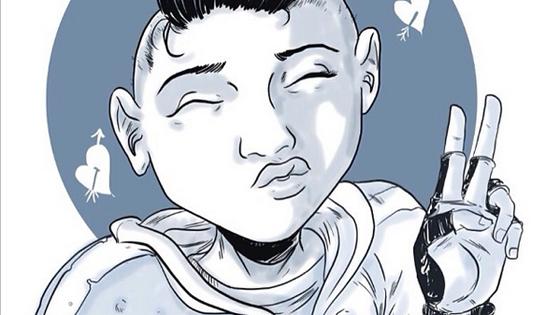 Sample of Steven's dope artwork