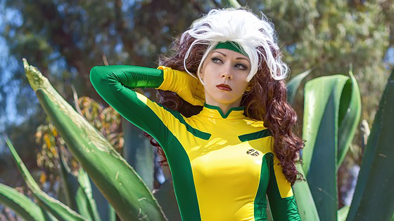 Cosplay Rogue From X Men Is My Latex Nirvana Omega Level