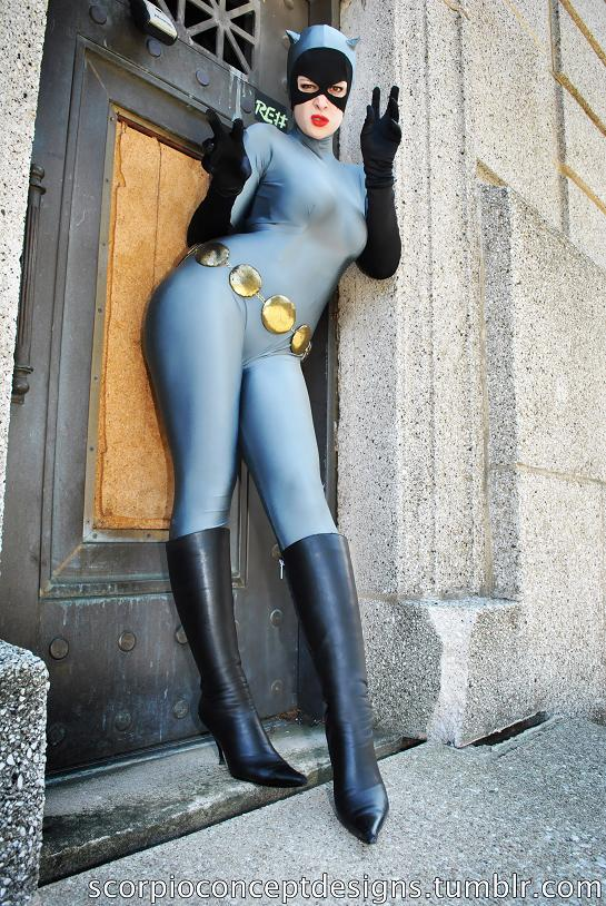 cosplay this catwoman is body suit bliss omegalevel