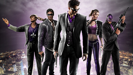 Saints Row - The Third.