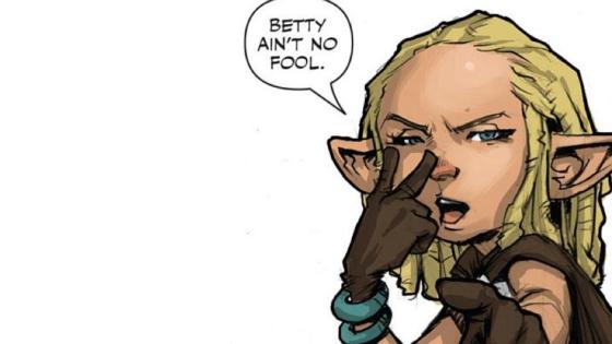 Betty ain't no fool!