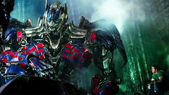 transformers 4 age of extinction trailer optimus rolls