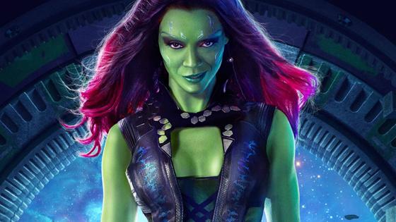 Gamora!