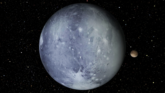 SPECULATION: One of Pluto's Moons (Charon) could have ...