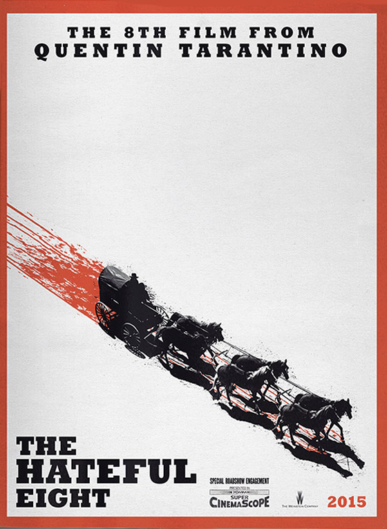 The Hateful Eight poster.