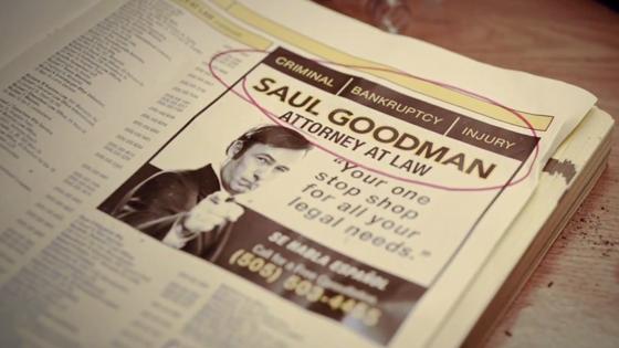 Saul Goodman.