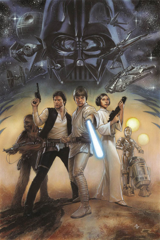 'Star Wars' remastered cover