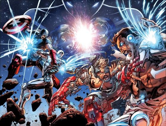Avengers-44-New-Avengers-33-Interlocking-Covers-0924f