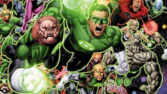 Green Lantern COrpsz