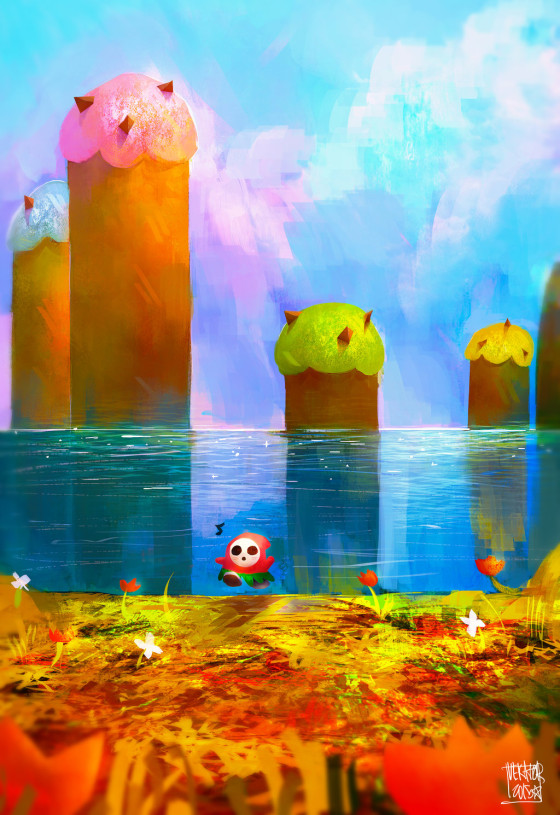 Yoshi's Island - Created by Victor Peña.