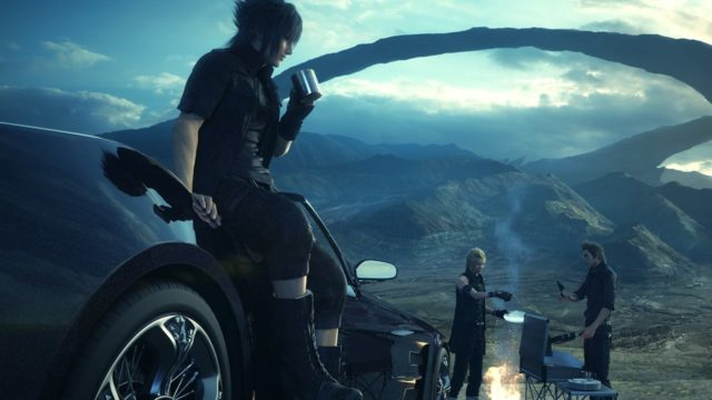 final fantasy xv online co-op dlc