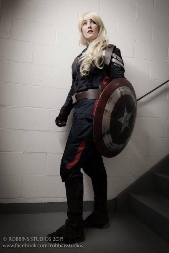 Rule 63 Captain America