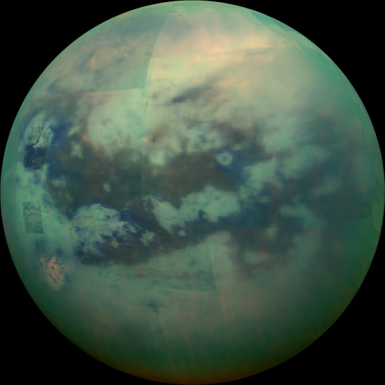 Saturn's Moon, Titan.