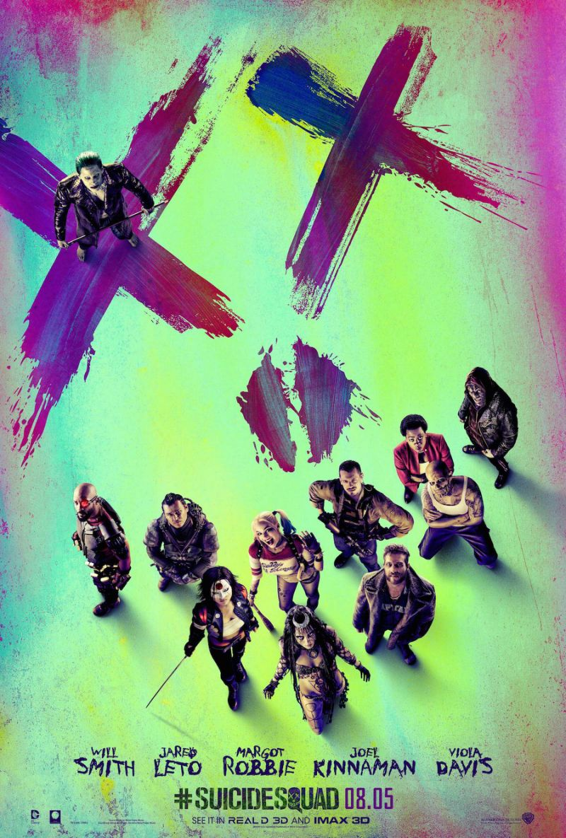 39 suicide squad 39 poster the whole motley crew of scum and villainy omega level. Black Bedroom Furniture Sets. Home Design Ideas