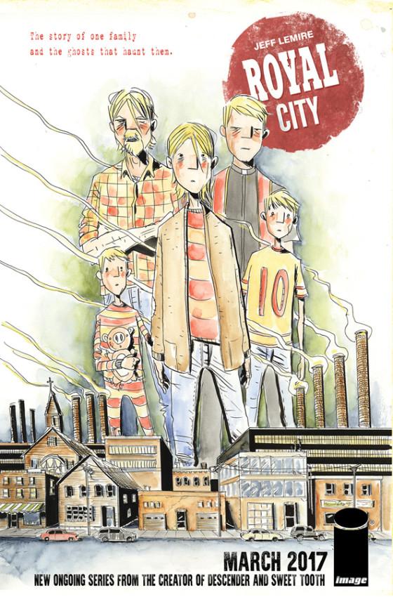 Royal City - Jeff Lemire