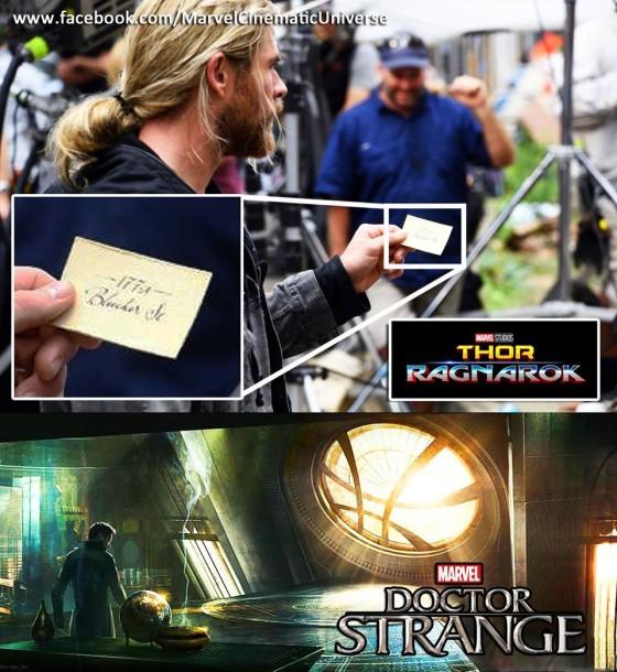 thor meets doctor strange